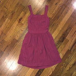 Madewell Apron Bow Back Dress